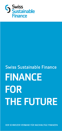 Swiss Sustainable Finance: German Flyer