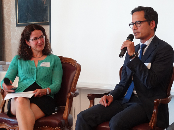 Ratana Tra, Senior Advisor, Siglo Capital Advisors and Sabine Döbeli
