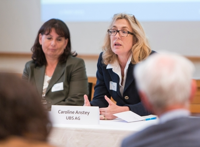 Caroline Anstey, UBS, and Béatrice Fischer, Credit Suisse, outline their intentions
