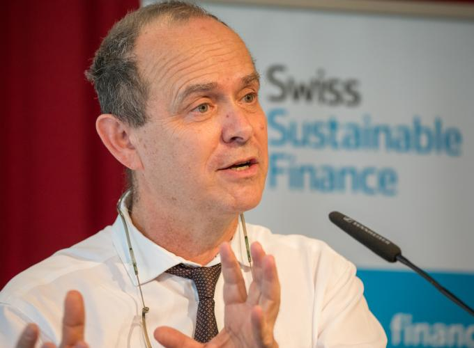 Simon Zadek illustrates importance of fintech for sustainable finance