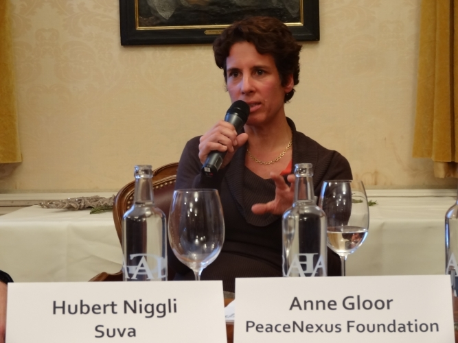 Anne Gloor (Founder, PeaceNexus Foundation)