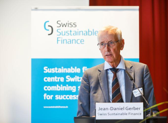 Jean-Daniel Gerber (President, SSF) delivers welcoming remarks