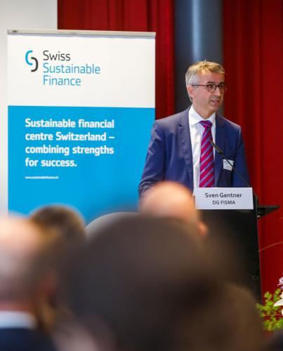 Sven Gentner, Head of Asset Management Unit at the European Commission's DG FISMA