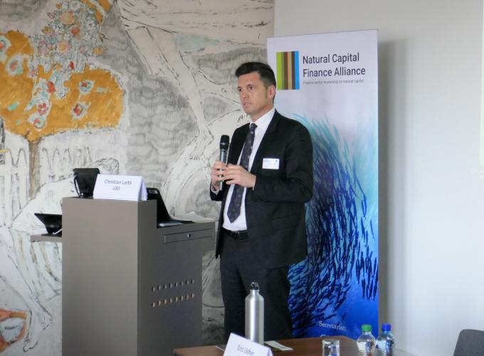 Christian Leitz, Head of Corporate Responsibility management, UBS