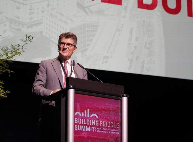 Patrick Odier opens the Summit