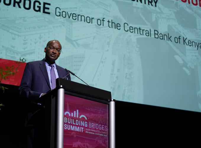 Patrick Njoroge, Governor of the Central Bank of Kenya