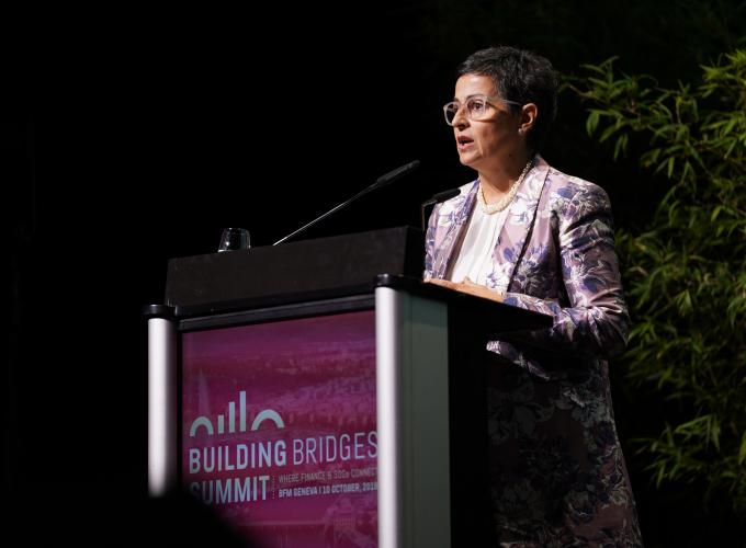 Arancha Gonzalez, Assistant Secretary-General of the UN and Ex.Director of the ITC