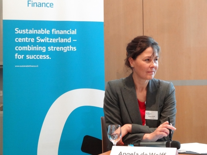 Angela de Wolff (Co-Founder, Conser Invest, Vice-President, SSF)
