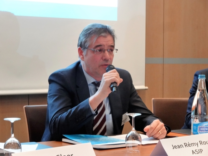 Panelist Jean-Rémy Roulet (President, Swiss Pension Fund Association (ASIP))