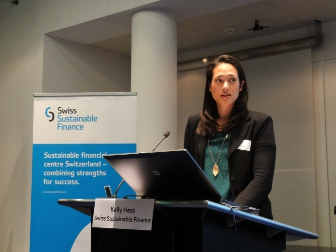 Kelly Hess (SSF) presents SSF's publication and supporting material