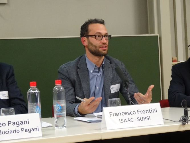 Francesco Frontini,Head of Building System Sector, ISAAC-SUPSI