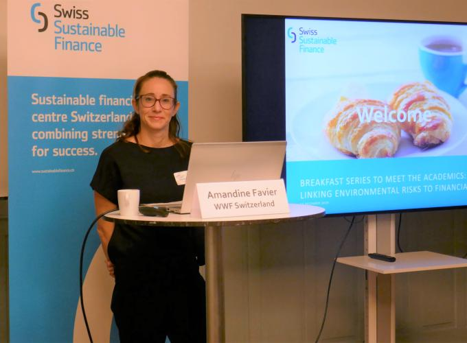Amandine Favier,  Head of Sustainable Finance, WWF Switzerland