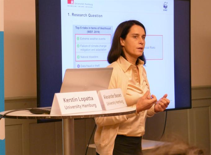 Kerstin Lopatta, Professor at  Research Group on Sustainable Finance, University Hamburg