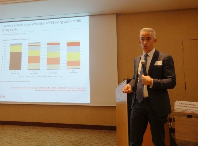 Christopher Greenwald, Head of Research Sustainable and Impact Investing UBS