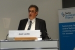 Jean Laville (SSF) opens the Geneva event