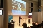 Sabine Döbeli, CEO SSF, opens the event